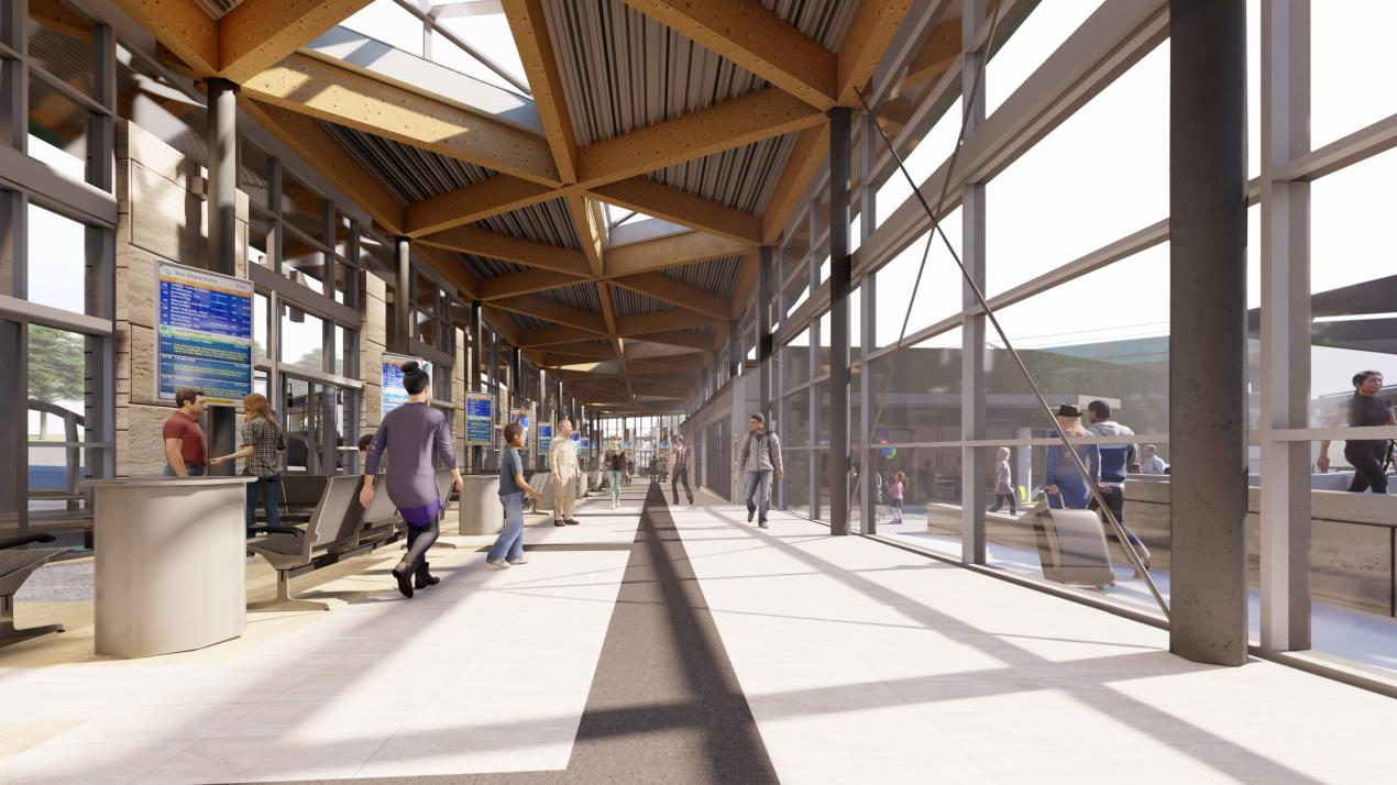 Visual of proposed Halifax bus station