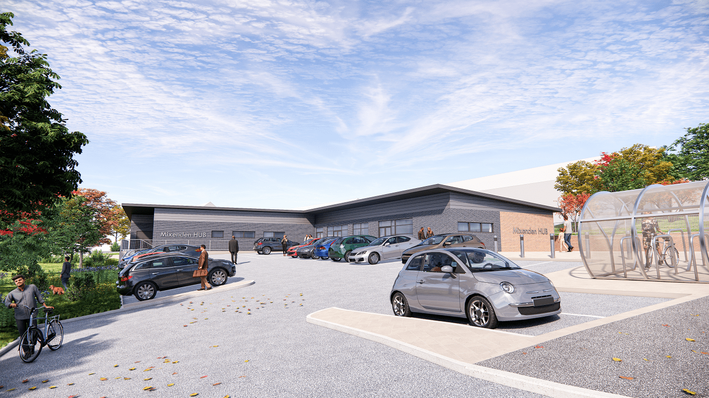 Visualisation of the proposed Mixenden Community Hub